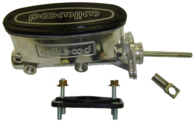 7/8 Bore Aluminum Master Cylinder Kit, 62-76 A-body