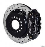 "Wilwood 13"" SuperLite 4R Rear w/Parking Brake/Drilled/Slotted"