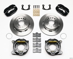 "Wilwood 12.19"" 4-piston Rear w/Parking Brake"
